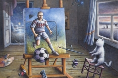 Maaginen maali - Magical goal and paints | 2010. myyty, sold