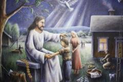 Jeesus siunaa lapsia lakeudella | Jesus blesses children In plain fields 2010