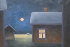 Täysikuu - Full Moon | 2010, myyty, sold