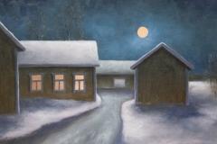 Valoa yössä - Light by night | 2010, myyty, sold