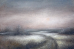 Sumuinen lakeus - Foggy fields| 2011, myyty,sold
